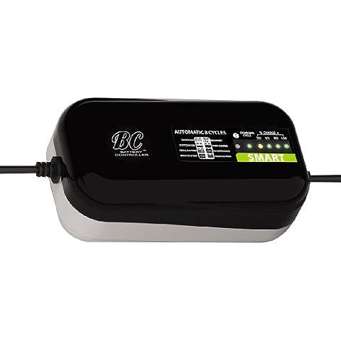 BC Battery Controller 708DEBCSP Cargador Mantenedor de 1,5 A para Baterías de Moto y Coche