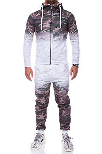 MT Styles Trainingsanzug mit Zipper Sportanzug R-934