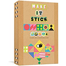 Make It Stick Notebook: 1,000+ Stickers and a Customizable Cover