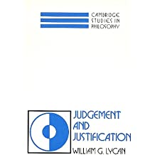 Judgement and Justification (Cambridge Studies in Philosophy)