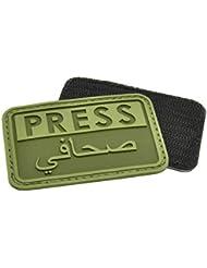 Hazard 4 3D Reporteros Prensa / Arabe Moral Patch OD Verde