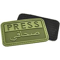 Hazard 4 3D Reporteros Prensa/Arabe Moral Patch Od Verde