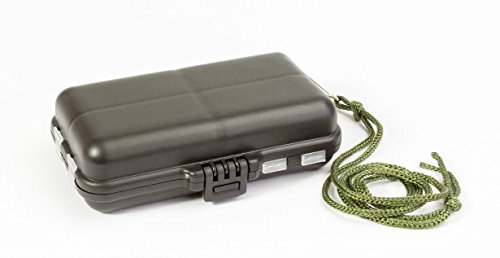 MissBirdler Angelbox Aufbewahrungsbox Angelzubehör Equipment Box Köderbox Sortierbox Tasche Schachtel Case Schwarz