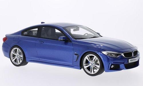 Preisvergleich Produktbild BMW 435i M-Sport, metallic-blau, Modellauto, Fertigmodell, GT Spirit 1:18