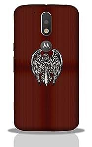 Eagal -Mobile Back Case Cover For Moto G4 Plus