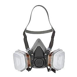 3M Kit Respiratore per Gas e Vapori a Semimaschera con Ricambi