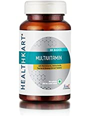 HealthKart Multivitamin with Ginseng Extract Taurine and Mu
