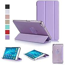 ISIN Custodia Tablet Serie Premium Pelle PU Smart Cover per Huawei MediaPad T2 7.0 Pro FHD IPS LCD WIFI 4G LTE Android 6.0 Tablet 2016 PLE-701L PLE-703L (Viola)