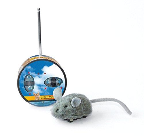 SwissPet Speedymaus mit Funksteuerung | Katzenspielzeug, ferngesteuert - Spielzeug für Katzen, Elektrisch