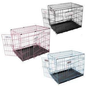 Croft 36 ins Alpine Dog Crate Choice of Black, Pink or Blue