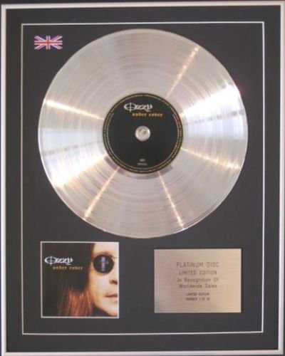 Ozzy Osbourne - CD platinum disc - Under Cover