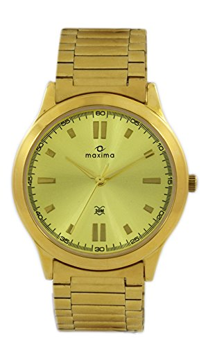 Maxima Analog Gold Dial Women's Watch - 34704CMLY image
