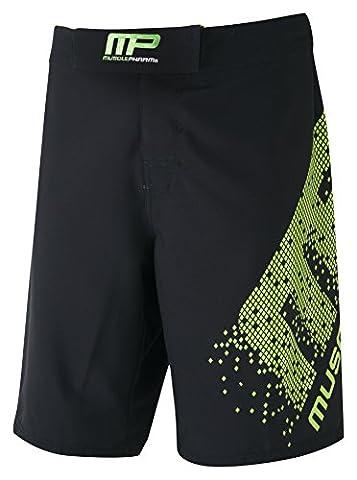 Muscle pharm textilbekleidung mPSHO420 printed short pour homme XL Noir - noir