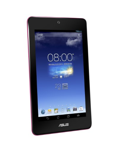 ASUS MeMO Pad HD 7 17,8 cm (7 Zoll) Tablet-PC (ARM MediaTek MT8125, 1,2GHz, 1GB RAM, 16GB HDD, SGX 544, Android OS) pink