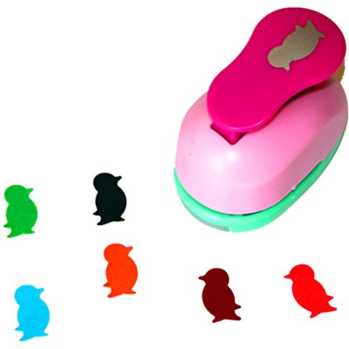 CADY Crafts Punch 2.5CM Papier locher paper punch- pinguin (Punches Hole Craft)