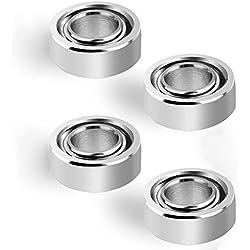 TENACHI R188 Roulements à Billes en Céramique pour Spinner roulement pour Spinner nitrure de Silicium Hybride Céramique Si3N4 Conjunto de Haute Vitesse 4 Pcs