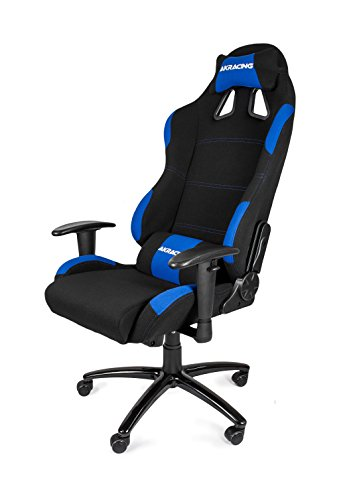 AKRacing K7012 – AK-7012-BL – Silla Gaming, Color Negro/Azul