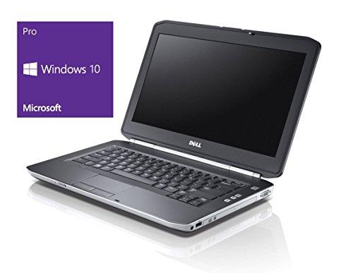 Dell Latitude E5430 Notebook | 14 Zoll Display | Intel Core i5-3320M @ 2,6 GHz | 8GB DDR3 RAM | 250GB SSD | DVD-Brenner | Windows 10 Pro vorinstalliert (Zertifiziert und Generalüberholt)
