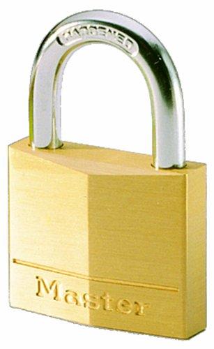 Candado de latón para bodegas, baúles, taquillas, 30mm con cerradura de llave