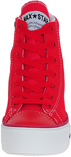 Maxstar  C2-7H, Chaussons montants femme Rouge - C2-Line-Red