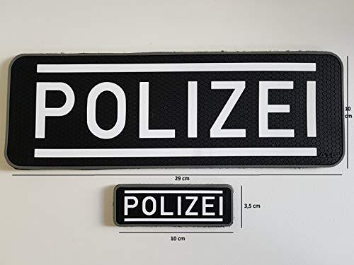 Preisvergleich Produktbild ATG Polizei Patch Set groß & klein (Set)