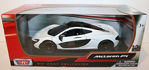 modell-auto-124-mclaren-p1-metallic-rot-schwarz-motormax-79325-by-motormax