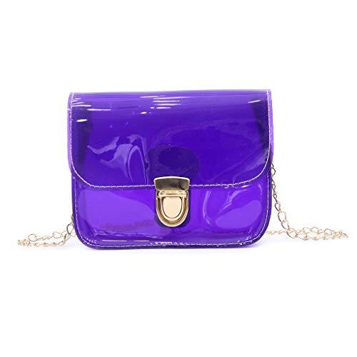 Dkings Jelly Stiletto Tasche einfarbige Handtasche Mode Transparente Schultertasche Hochzeit täglich lässig Reise Büro Anlass