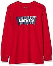 Levi's Kids Camiseta de manga larga rojo para N