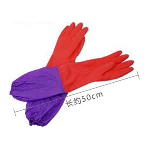 eastlion-kitchen-wash-dishes-cleaning-long-sleeves-rubber-latex-waterproof-gloves-tool