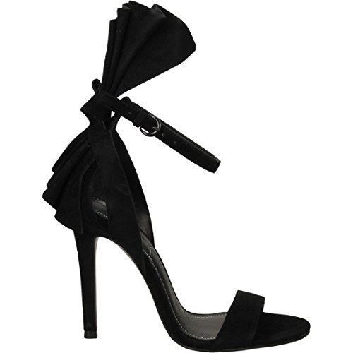 Kendall and Kylie Kkeve, Bride cheville femme Schwarz (Black Suede)