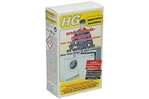 HG Reiniger (Wasch- und Geschirrspülmaschinenreiniger) Reiniger 248020100 Hg