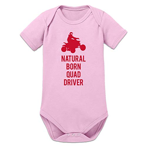 Shirtcity Natural Born Quad Driver Baby Strampler by