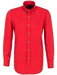 Ralph Lauren, Park Avenue Red, Custom Fit Chemise pour homme