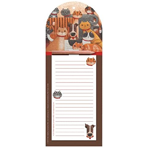 Cats & Dogs Magnetic Memo
