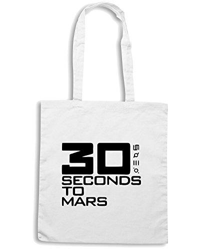 cotton-island-borsa-shopping-fun0321-30-seconds-to-mars-band-vinyl-decal-stickers-10302-taglia-capac