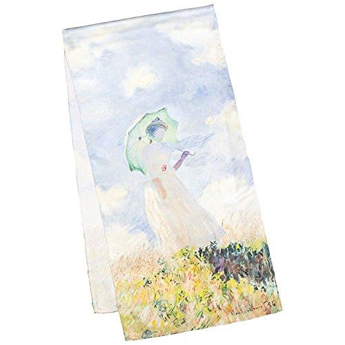 VON-LILIENFELD-Bufanda-de-seda-Claude-Monet-Dama-con-paraguas