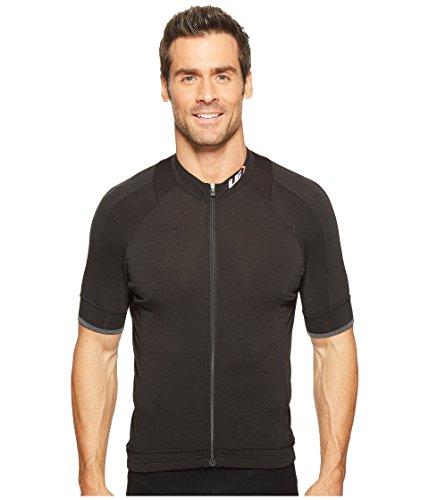Louis Garneau Herren Fahrradtrikot Lemmon 2, leicht, kurzärmelig, Durchgehender Reißverschluss, Herren, schwarz, X-Large -