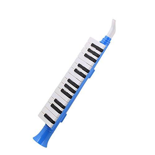 f 27Tasten Melodica Mundharmonika Wind Klavier qm27a schwarz weiß Tastatur für Kinder (Kunststoff-klavier-tastatur)