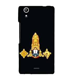 printtech Lord God Balaji Back Case Cover for Micromax Canvas Selfie Lens Q345