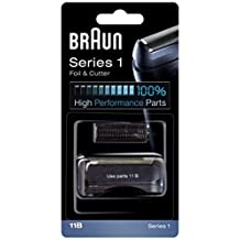Braun - Láminas 11B - Láminas de recambio para afeitadoras Series 1