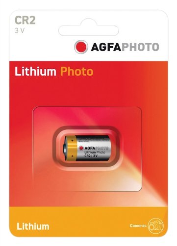 AGFA PHOTO au Lithium CR2 (carte de 1)