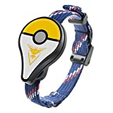 Pokemon GO Pulsera Inteligente con Bluetooth, Dispositivo de Juego inalámbrico con indicador LED, Detector de Monstruos, Solo para Nintendo Pokemon Go Plus