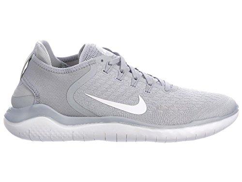 Nike Herren Free RN 2018 Laufschuhe Grigio (Wolf Grey/White/White/Volt 003)