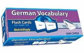 By BarCharts Inc - German Vocabulary (Academic) (Crds)