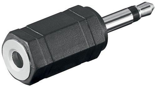 Adapter 3.5mm mono Stecker auf 3.5mm stereo Kupplung (3,5-mm-stecker)