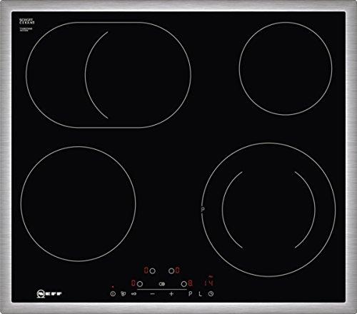 Neff T16BD76N0 autarkes Glaskeramikkochfeld, 60 cm, Touch Control, Zweikreis
