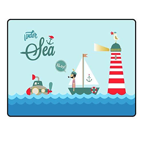 Flexible Shades Autofenster Magnetic Sonnenschutz-Auto-Cartoon Sonnenschutz Shade Pflege für Kinder Warm Kaninchen Segelboot
