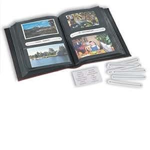 Leuchtturm Album multi-usage 200 Cartes Postales, Lettres, photos stand. ou 100 photos panoram., vert