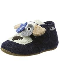 NangaAmalia - Zapatillas de casa Unisex bebé, Color Gris, Talla 20