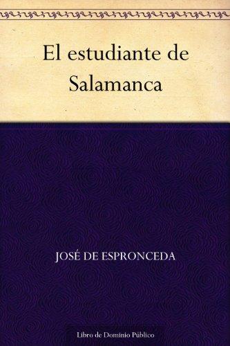 El estudiante de Salamanca por José de Espronceda